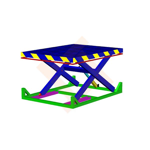 подъемный стол (гидравлический) с ходом до 1600 мм