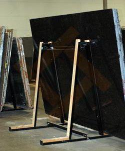 Пирамида А-образная хранения слябов (плит) камня, мрамора, гранита