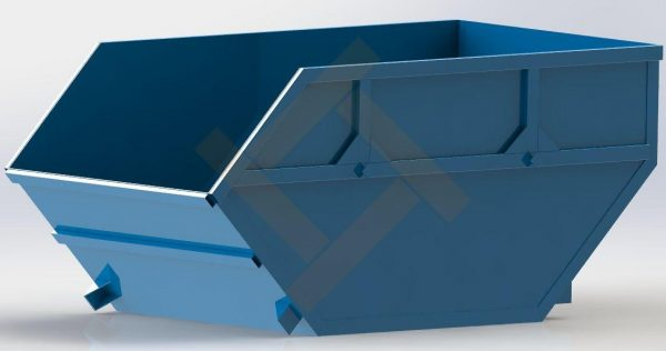 Бункер контейнер 8 м³ для строительного мусора