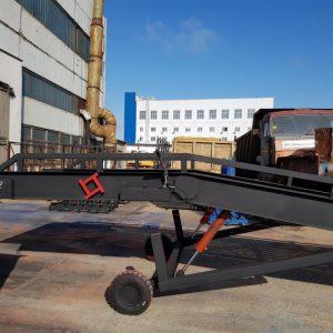 Гидравлическая мобильная рампа: 10 тонн / 9 метров