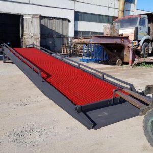 Гидравлическая мобильная рампа: 7 тонн / 12 метров