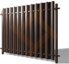 Заборы и ограждения из металлического штакетника (евроштакетник) 1.5 метра
