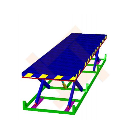 ножничный подъемный стол по индивидуальному проекту
