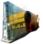 Двухсторонняя стойка для перевозка стекла JUMBO,PLF, DLF формата A-3315 . Стекловоз (Inloader)