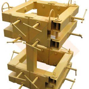 Монтажные кондукторы для колонн