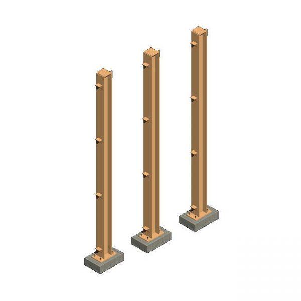 металлические колоны купить от производителя в Минске