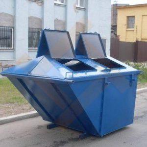 Бункер-контейнер типа лодочка