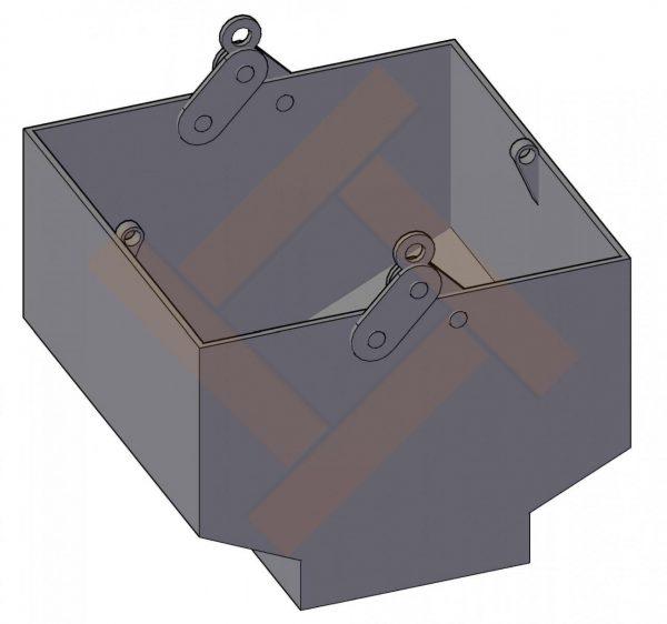 Краб-контейнеры для стеклобоя от 1 до 3 м³