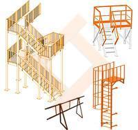 Лестницы и этажерки
