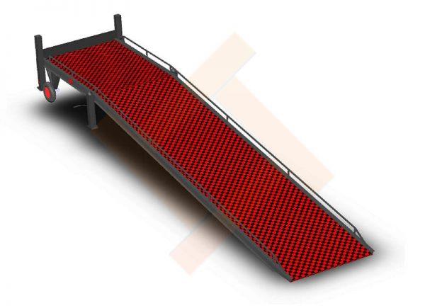 Рампа COMBO RAMP M-7-12 – конструкция из металла в виде наклонной платформы