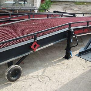 Механическая мобильная рампа: 7 тонн / 12 метров
