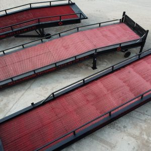 Механическая мобильная рампа: 10 тонн / 12 метров