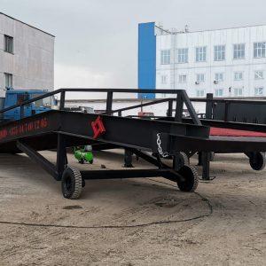 Гидравлическая мобильная рампа: 7 тонн / 9 метров