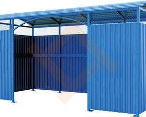 Ограждения и навесы мусорных контейнеров (ТБО)
