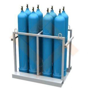 Контейнер (паллета) для баллонов технических газов