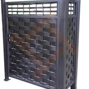 Забор металлический плетеный