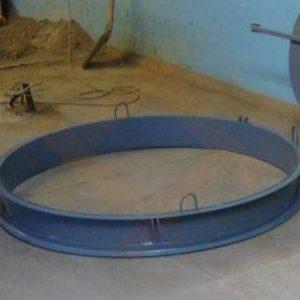 Форма для производства днища колодца-ПН 10