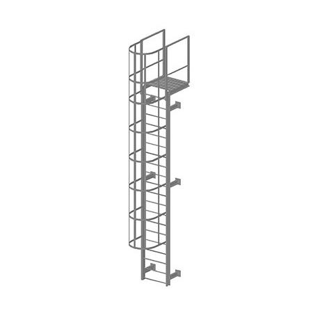 Пожарная металлическая лестница навесная купить от производителя