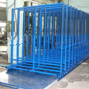 Раздвижной склад листового стекла JUMBO