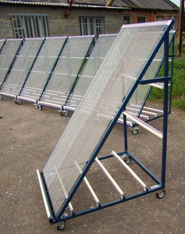 сортировочная пирамида для стекла (Арфа) - Монолит Металлоконструкции