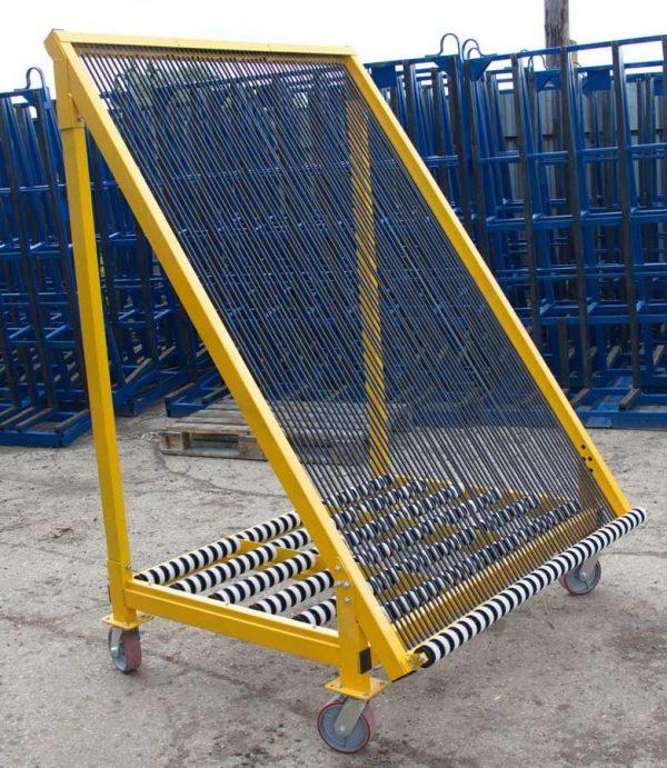 сортировочная арфа (пирамида) для стекла от производителя Монолит Металлоконструкции