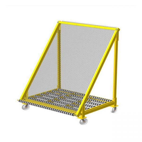 сортировочная арфа-пирамида для стекла от производителя Монолит Металлоконструкции