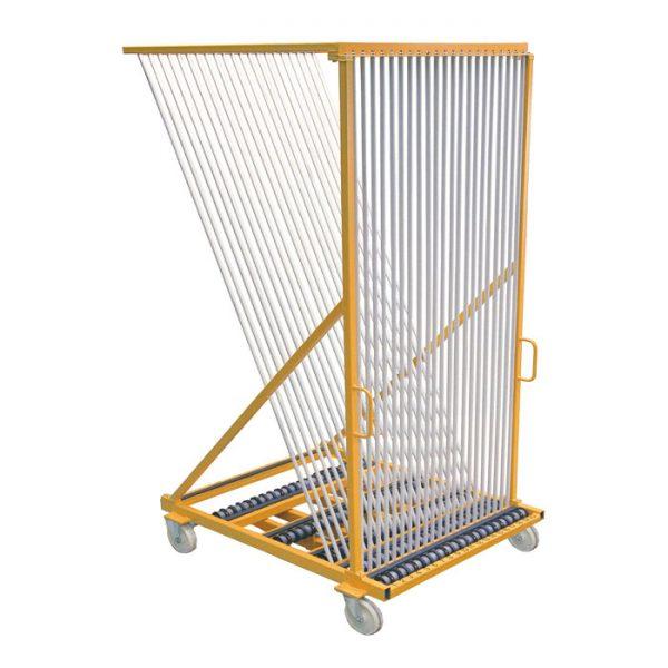 Сортировочная арфа-пирамида БАП-60-Р для стекла и стеклопакетов