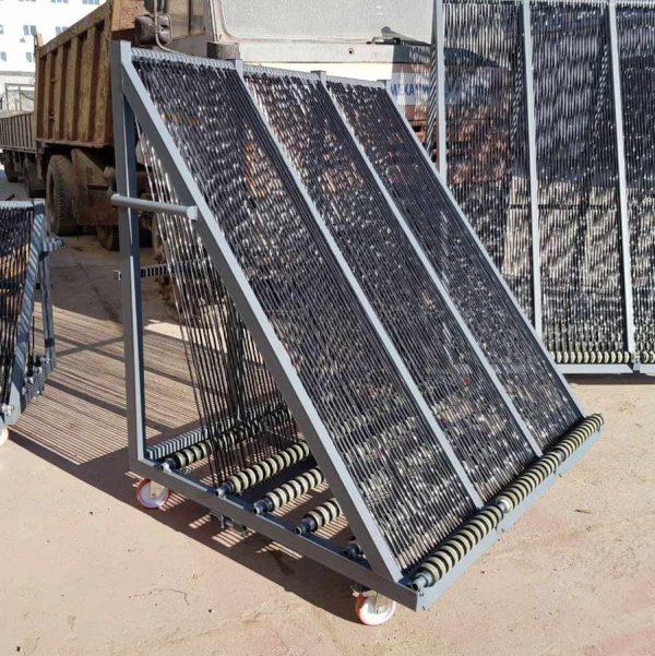 сортировочная пирамида для стекла (арфа для сортировки и хранения стекол) - MetalWork.by