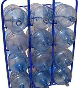 Стационарный стеллаж для 19-ти литровых бутылей