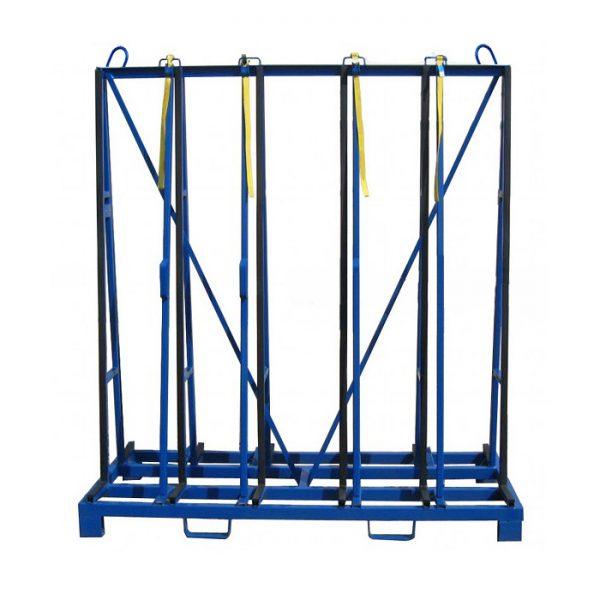 стойка (А-образная парамида) для хранения стекла, стеклопакетов, зеркал производства Монолит Металлоконструкции