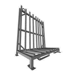 L-образная стойка (пирамида) L-1617 для стекла, стеклопакетов, зеркал