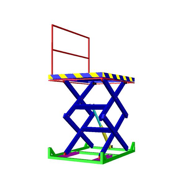 ножничный подъемник (стол) высота подъема до 3800 мм