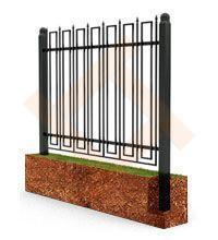 Сварной металлический забор (ограждение)