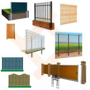Ограждения, ворота, решетки