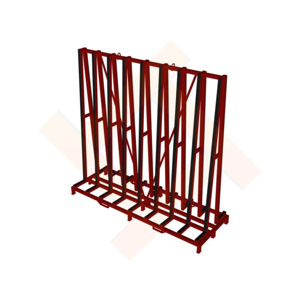 стойка для перевозки и хранения стекла от производителя metalwork.by