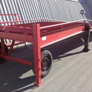 Механическая мобильная рампа: 10 тонн / 9 метров