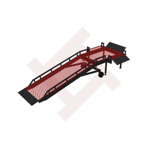 рампа передвижная для 3х сторонней разгрузки / погрузки