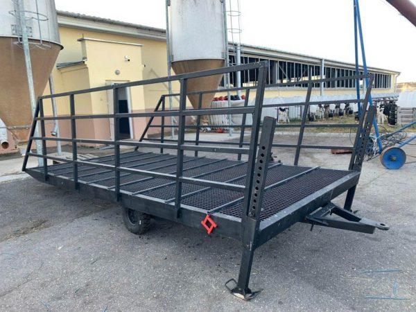Мобильная рампа для перегона скота