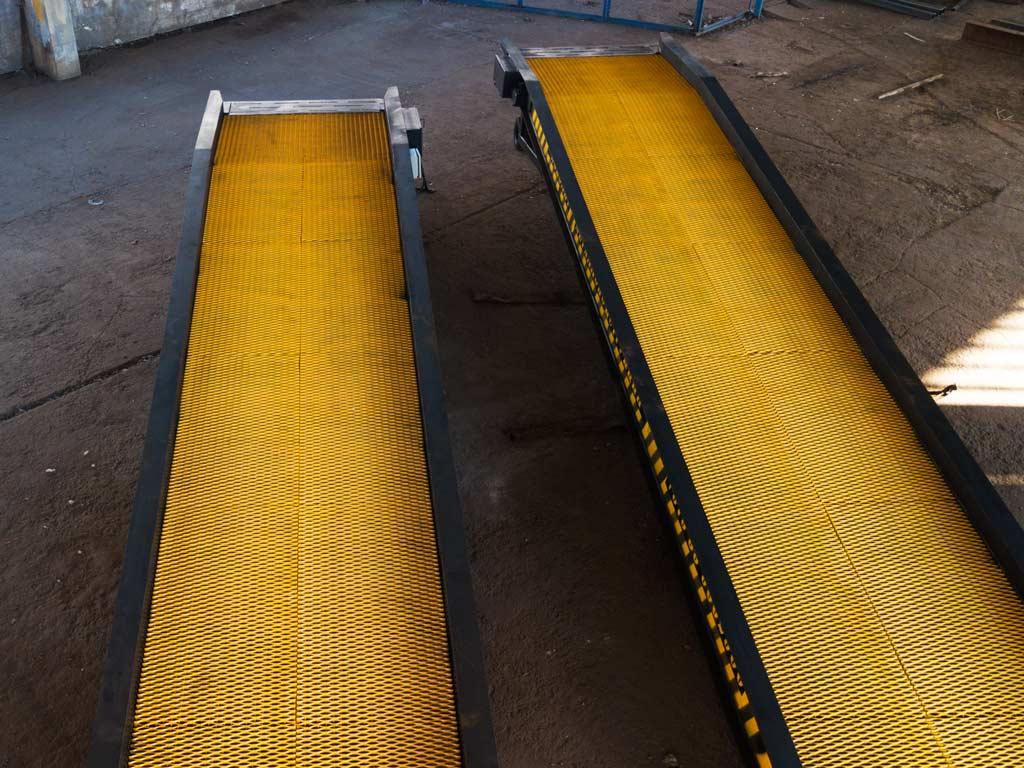 передвижные эстакады на складе