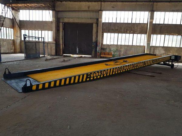 мобильная рампа 13 метров