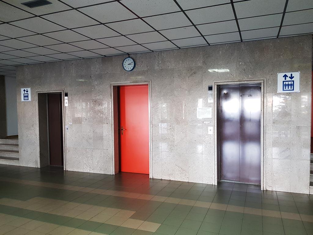 Монолит металлоконструкции - проходная кожзавода, 1й этаж
