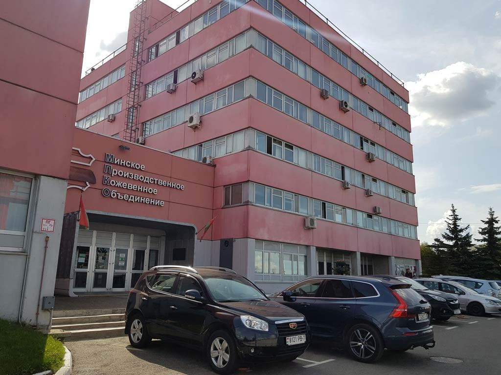 Монолит Металлоконструкции - офис на территории кожзавода в Гатово